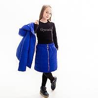 Комплект демисезонный для девочки «Куртка+юбка», фото 1