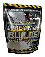 Whey Mass Builder 1500g  HI-TEC Шоколад 20% протеина/70% углеводов (Шоколад)