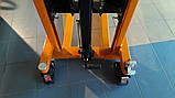 Штабелер CTY-E1.0/1.6M Niuli, 1 тонна, гидравлический штабелер, фото 3