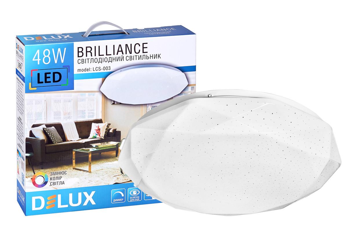 Світильник світлодіодний LCS-003 Brilliance 48W 3000/6000K+пульт