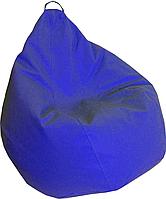 Кресло груша Кожзаменитель Практик Синий, фото 1