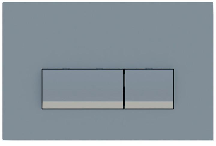 Панель смыва Koller Pool Integro Matt Chrome