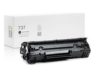 Картридж Canon 737 (чёрный) совместимый, стандартный ресурс (2.400 копий) аналог 9435B002 от Gravitone