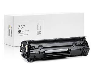 Картридж совместимый Canon 737 (9435B002) Black, 2.400 копий, аналог от Gravitone (GTC-CRG-737-BK)