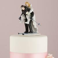 """Фигурки, статуэтка на свадебный торт """"Зимний сезон"""""""