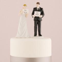 """Фігурки на весільний торт """"Simwith&Imwith"""""""