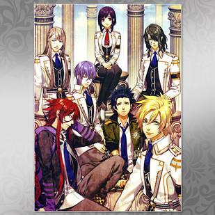 Плакат Аниме Kamigami no Asobi 01