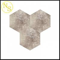Сота (шестиугольник) из эко-кожи 150х172х7мм