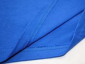 Приталенная мужская футболка Ярко-синяя размер S 61-200-51, фото 3