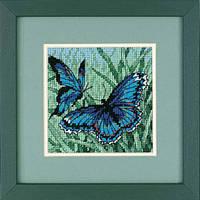 "07183 Набор для вышивания (гобелен) DIMENSIONS Butterfly Duo ""Пара бабочек"""
