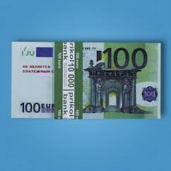 Сувенирные деньги (100 евро)