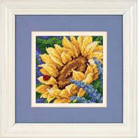 """17066 Набор для вышивания (гобелен) DIMENSIONS Sunflower and Ladybug """"Подсолнух и божья коровка"""""""
