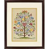 """70-73817 Набор для вышивания крестом DIMENSIONS Vintage Family Tree """"Семейное древо (винтажный стиль)"""""""