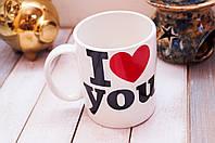 """Подарок Любимой на  праздник """" I love you """" 350 мл"""