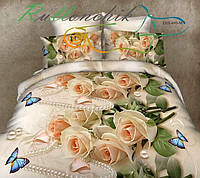 Комплект постельного белья ранфорс 100% хлопок двухспальный