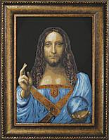 "Набор для вышивки крестиком Чарівна Мить М-327 По мотивам Леонардо да Винчи ""Спаситель мира"""