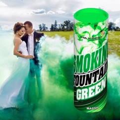 Зелений дим для фотосесії, Кольоровий дим Maxsem