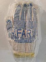 Перчатки рабочие FAR, 12пар, оптом из Киева
