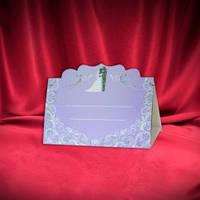 Рассадочная карточка на свадьбу 50