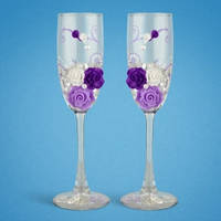 Свадебные бокалы (ручная работа) TL-1103