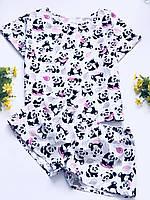 Женская хлопковая пижама .Комплект для дома и сна