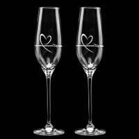 Свадебные бокалы с элементами SWAROVSKI