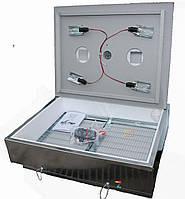 Инкубатор бытовой оцинкованный «Наседка ИБМ-140» с механическим переворотом яиц., фото 1