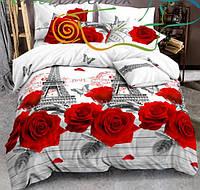 Комплект постельного белья ранфорс 100% хлопок евро