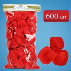 Лепестки роз (красные) 600 шт