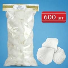 Пелюстки троянд (білі) на весілля, 600 шт