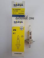 Лампа галогенная NARVA H1 Standart 12V 55W (1 шт.), фото 1