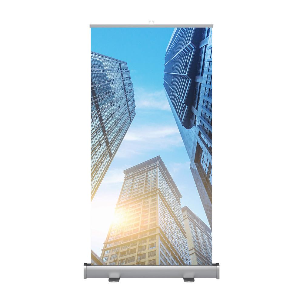 Рекламный стенд, дисплей Roll Screen, 1.00 х 2.00 м, односторонний (CRS-2L-E)