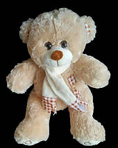 С шарфом Мишка 41 см мягкая игрушка на подарок плюшевый медведь игрушки для детей, фото 2