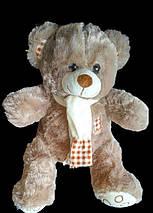 С шарфом Мишка 41 см мягкая игрушка на подарок плюшевый медведь игрушки для детей, фото 3