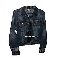 Пиджак джинсовый на девочку YUKE арт 9923 116,122 р