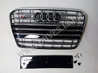 Решетка радиатора Audi A5 в стиле S5 (2011-2015), фото 1