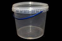 Ведро пластиковое для меда 3 л (сертифицированное), фото 1