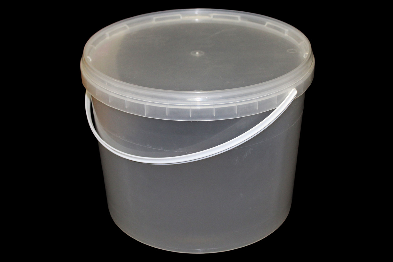 Ведро пластиковое для меда 10 л (сертифицированное)