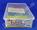 Лакричные поленья Jake Churritos Arcoiris Brillo Pinta, фото 3