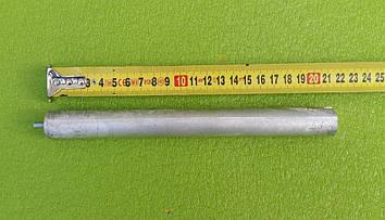 Анод магнієвий Італія Ø21мм / L=210мм / різьблення M5*10мм оригінал