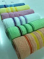 Упаковка банных полотенец 70х140 (Турция, 100% хлопок), фото 1
