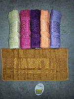 Cestepe maxi soft упаковка бамбуковых банных полотенец 70х140 (Турция, 100% Бамбук), фото 1