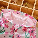 """Ветровка  для девочки """"Цветы"""" размер 104., фото 3"""