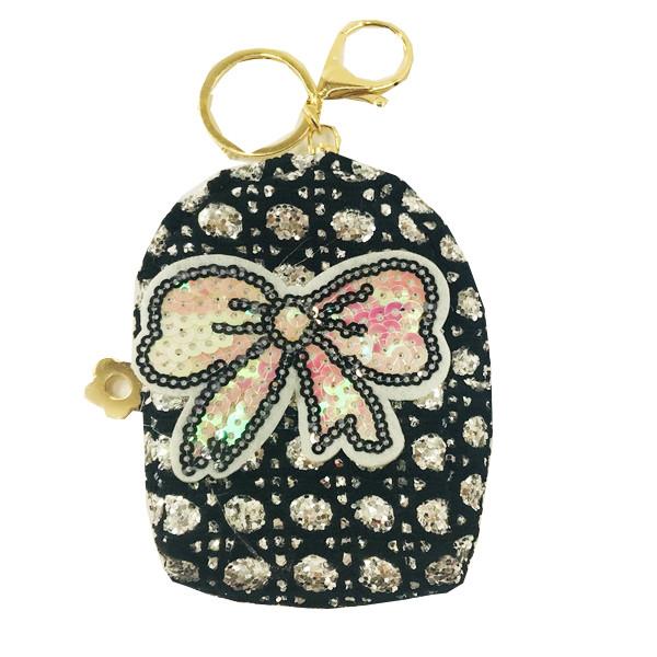 Брелок сумочка рюкзачок текстильный
