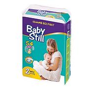"""Подгузники """"Baby Still"""" 2 – 54 шт. / 3-6 кг"""