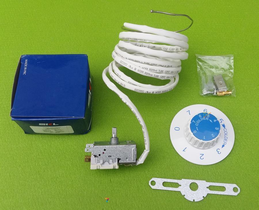 Термостат капиллярный универсальный SKL / K59-L1275 / 6A / 250V / L=2,5м для двухкамерных холодильников