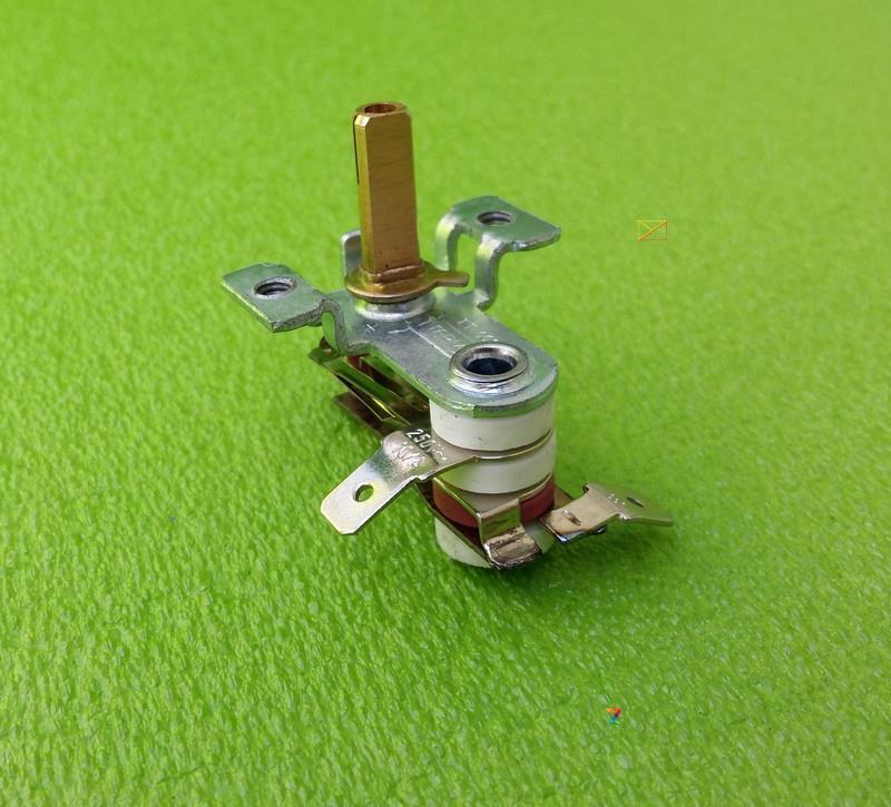 "Терморегулятор TT001 TTERMO / 10А / 250V / h=15мм / 4 изолятора (""с ушками"")  для электроплит, электродуховок"