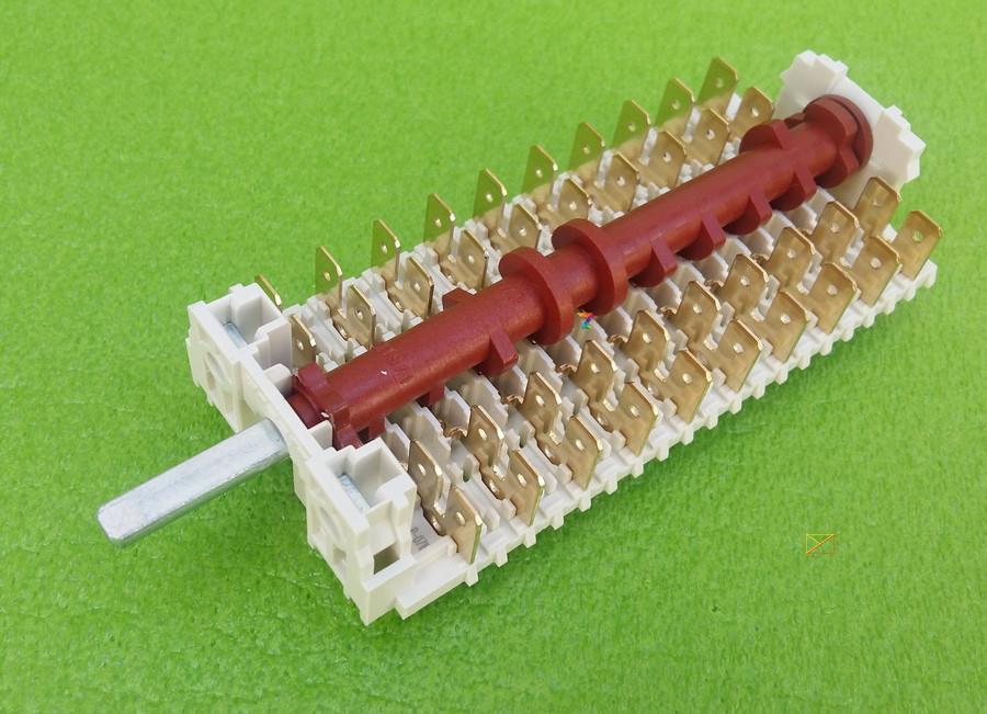 Перемикач режимів шестипозиційний 19HE-016 / 16 для електродуховок, електроплит DREEFS, Італія