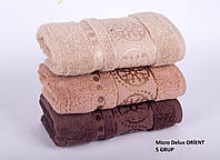 MICRO DELUX упаковка банных полотенец 70х140 (Турция, 100% хлопок), фото 1