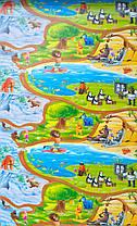 Детский игровой коврик для ползания ребенка «Happy Kinder» XXXL 3000х1200x8 мм, фото 2